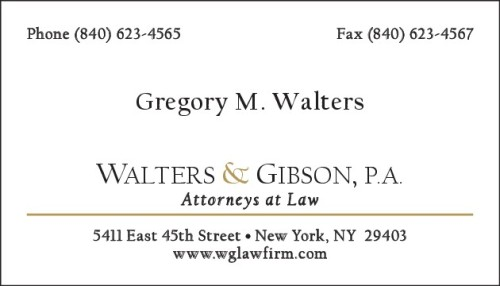 Walters & Gibson