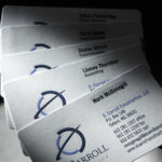 D. Carroll Business cards