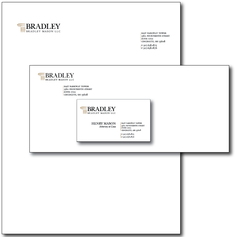 Bradley Stationery Layout