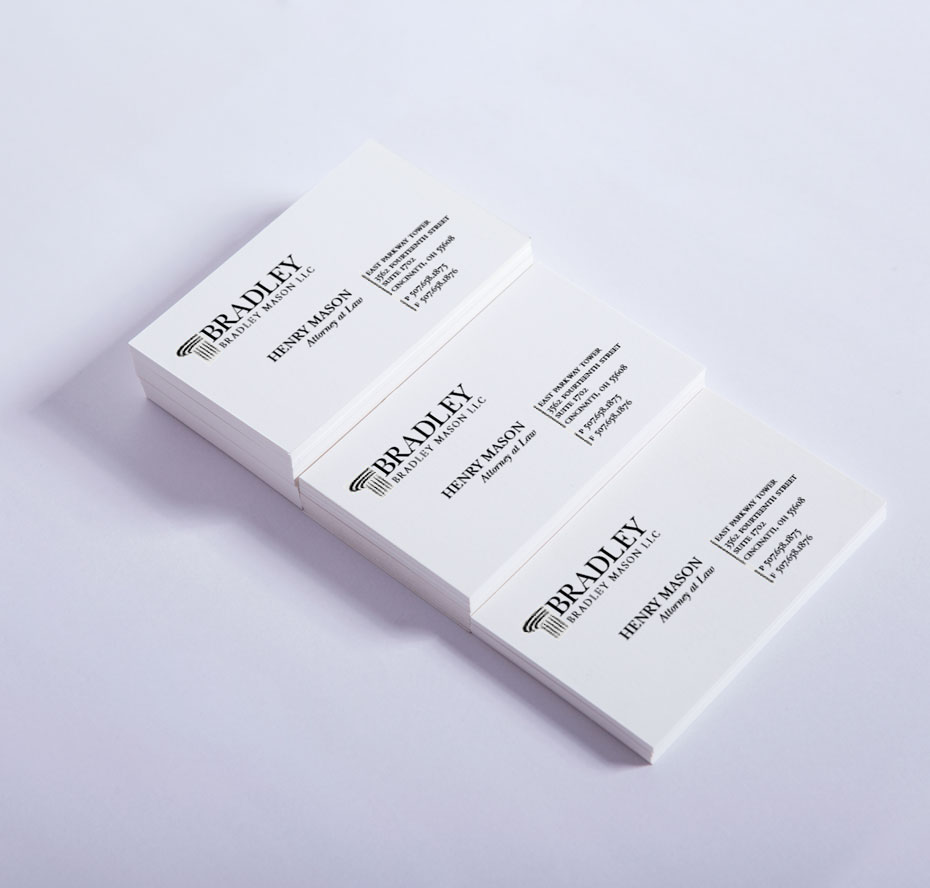 white business card 002