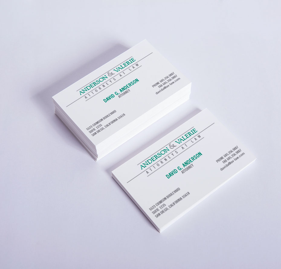 white business card 003