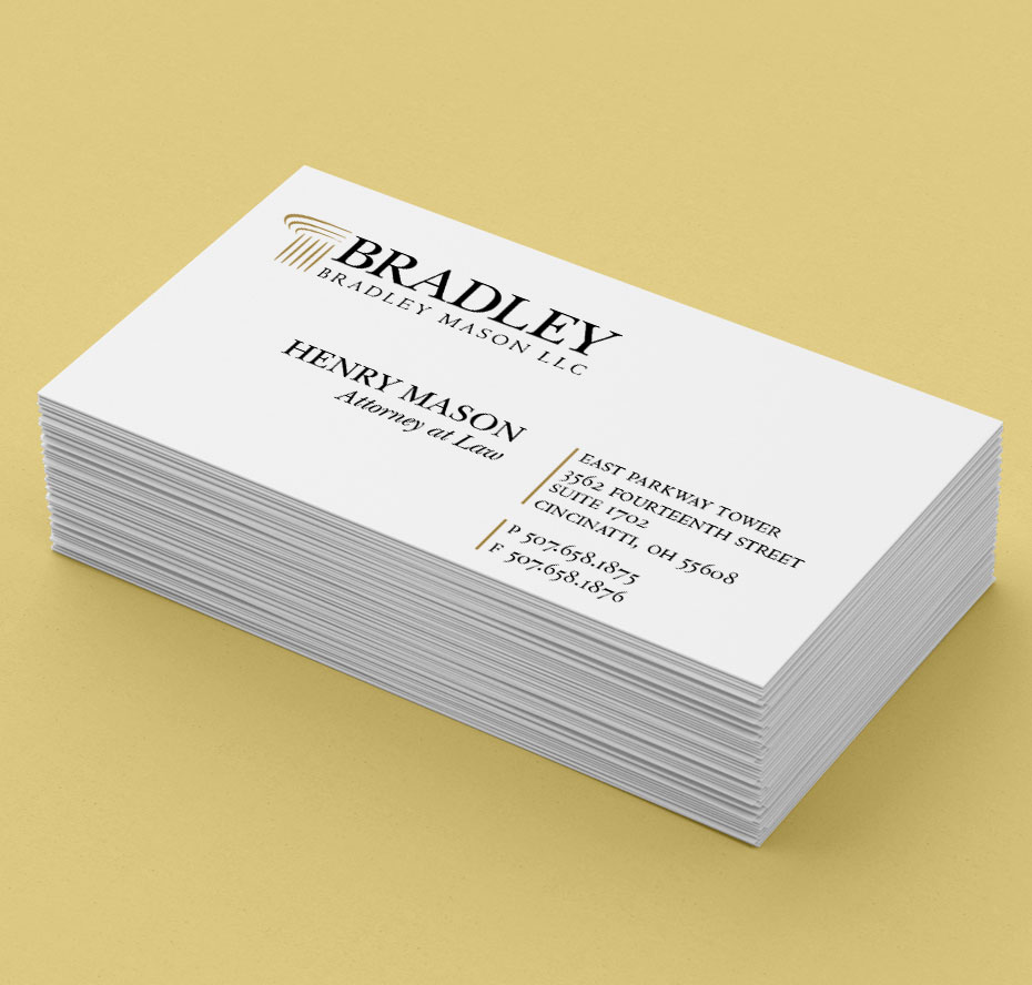 bradley business cards