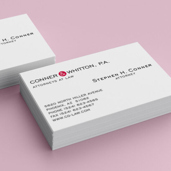 Conner Business Cards