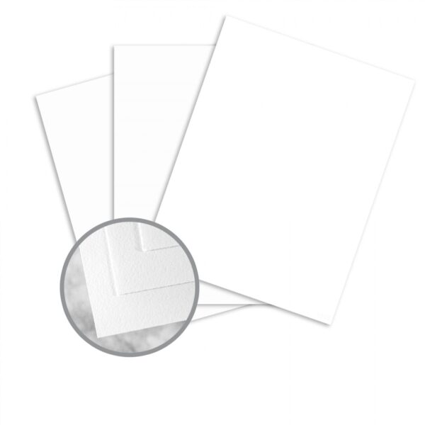 white card stock wove